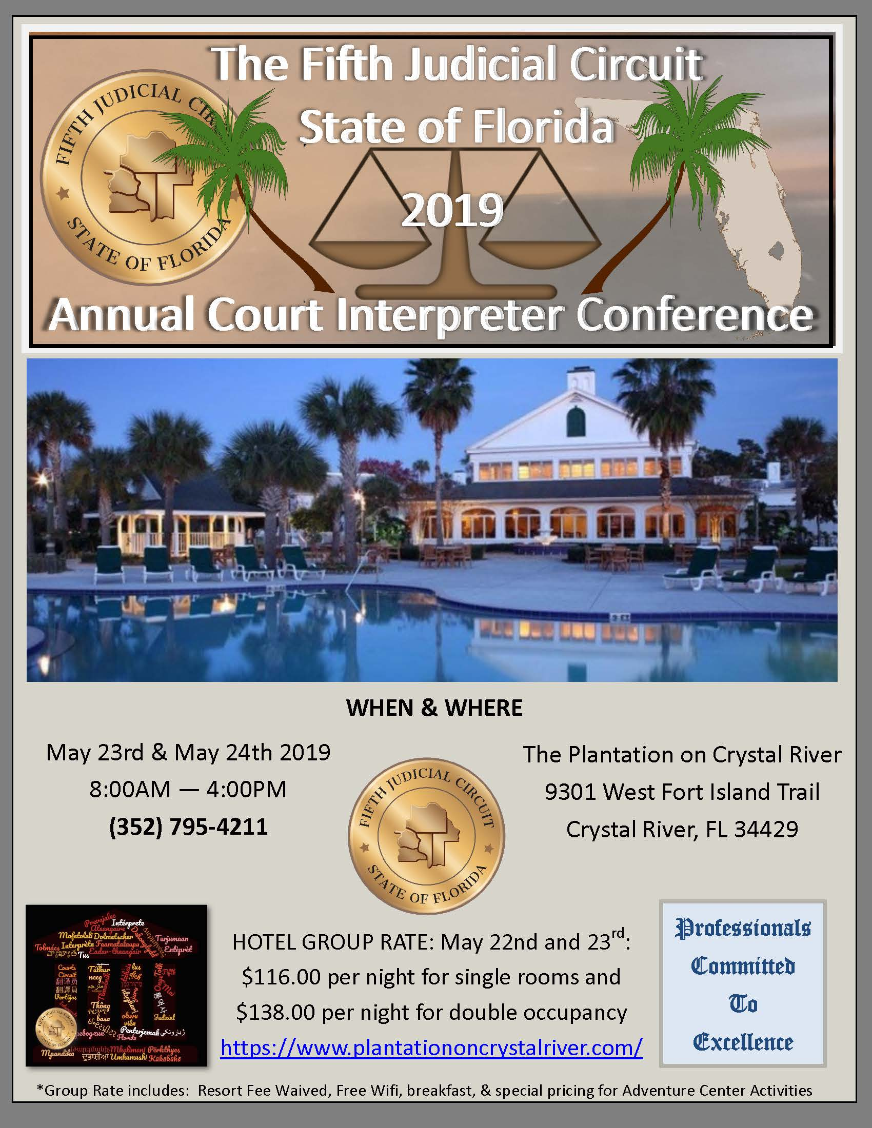 Home State Of Florida Fifth Judicial Circuit